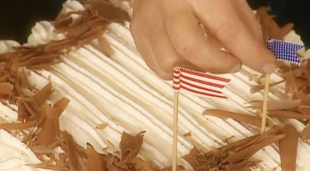 Perfect 'no-bake' cake for Independence Day