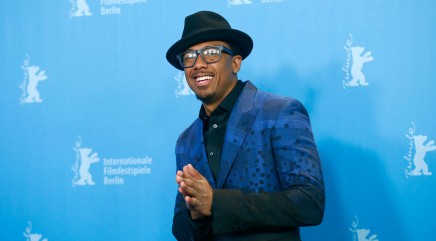 Nick Cannon rocks an unexpected look