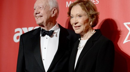 Jimmy Carter gushes about his wife of 70 years