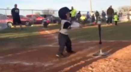 This 4-year-old baseball champ's epic dance moves will brighten your day