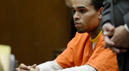 How Chris Brown celebrated his jail release