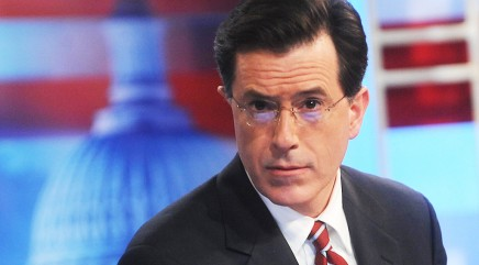 The benefit of watching Colbert