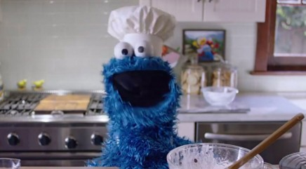 Cookie Monster may have an odd effect on your iPhone