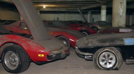 Corvette collection restored to shine