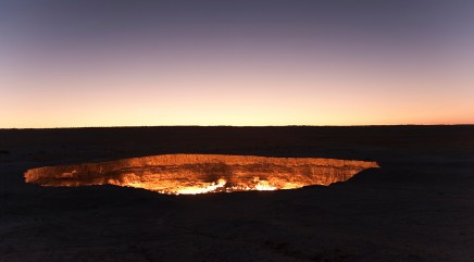 'The Door to Hell' is a real place -- and it will fascinate you