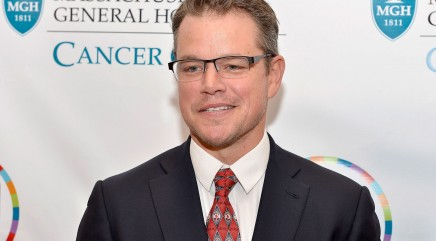 Why did Matt Damon dump toilet water on his head?