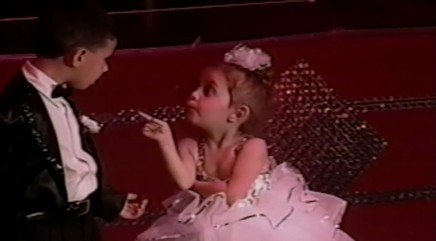 Sassy little girl refuses to dance with boy during recital