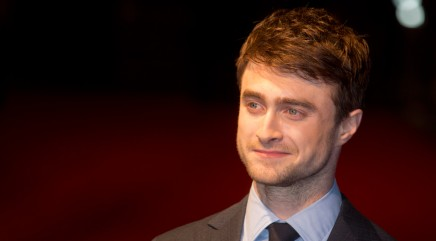 Radcliffe shows off his girlfriend