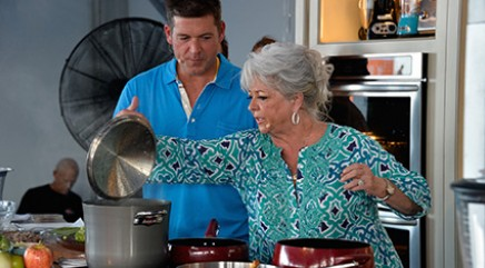 Paula Deen is back with a peek at new home studio