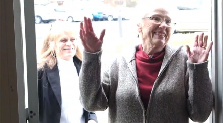 Famous face gives beloved school bus driver the ultimate surprise