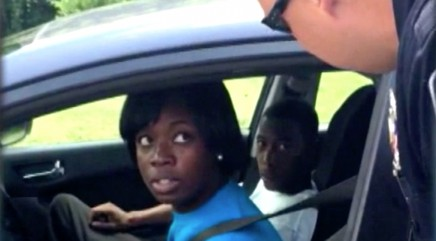 Va. cop stuns driver with sweet surprise