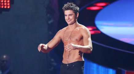 Zac Efron has crush on bombshell