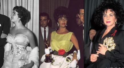 Elizabeth Taylor's iconic style