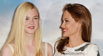 'Maleficent' star talks meeting Angelina Jolie for the first time