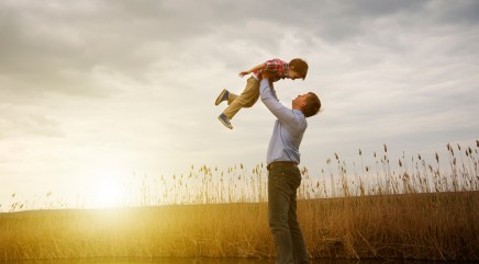 Why dads 'don't have to be perfect'