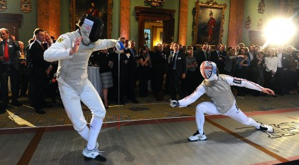 The historic sport of fencing