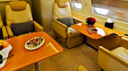 The ultimate way to fly first class