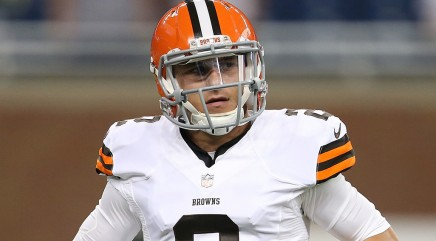 Manziel's obscene gesture toward Redskins