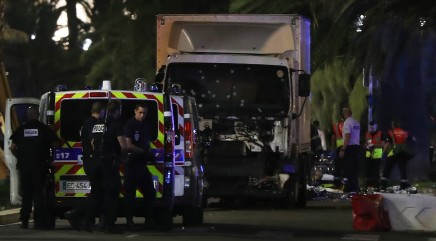 Footage emerges of the seconds before a truck drove into a crowd in Nice, France