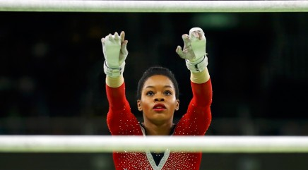 Olympic gymnast Gabby Douglas responds to backlash over 'grumpy' behavior