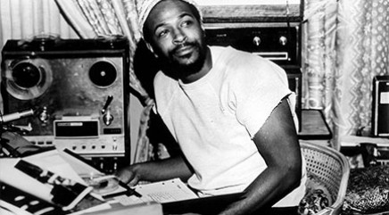 Unusual way Marvin Gaye recorded his music