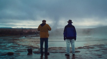 Filmmaking vs. nature: Capturing a real geyser