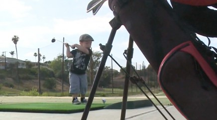 2-year-old could be the next Tiger Woods