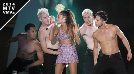 Ariana Grande dishes on new video and VMAs