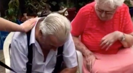 Touching gift brings 82-year-old grandpa to tears