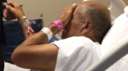 Heartwarming surprise brings grandfather to tears