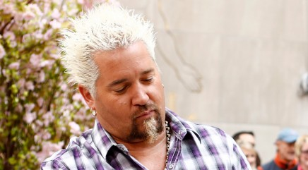 Guy Fieri puts a special twist on steak