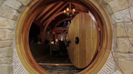 Peek inside reclusive millionaire's ultimate 'Hobbit' home
