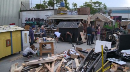 Calif. man transforms trash into beautiful tiny houses for the homeless