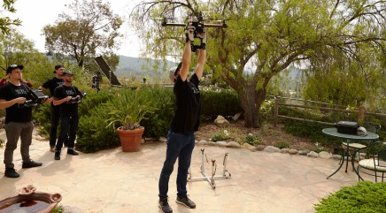 Drones serve a special purpose in Hollywood