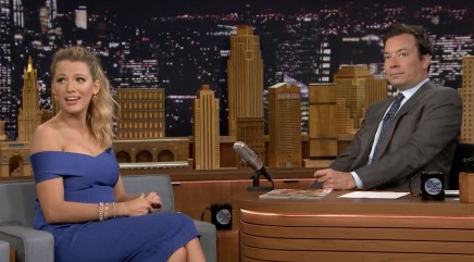 Jimmy Fallon gives Blake Lively a very unusual gift