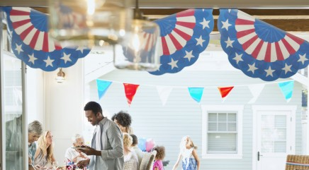 Make festive garland perfect for 4th of July
