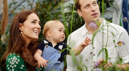 Royal baby celebrates his first birthday