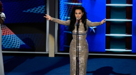 Big star helped Katy Perry write her DNC speech