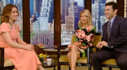 Emilia Clarke and Kelly Ripa nail flawless Valley girl impressions