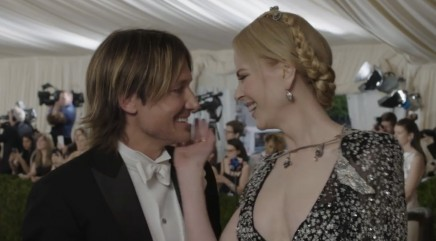Nicole Kidman and Keith Urban share unexpected passionate kiss during Met Gala interview