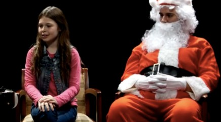 See what happens when kids take a lie detector test in front of Santa