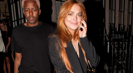 Is Lindsay Lohan done with party life?