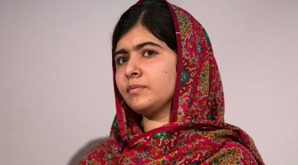 Malala's mother learns to read as an adult