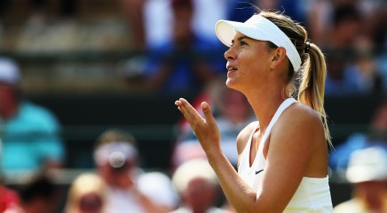 Sharapova talks ten years at Wimbleton
