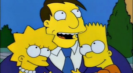 Real-life president inspired Mayor Quimby's character