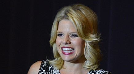 Megan Hilty learns essential new mom tips