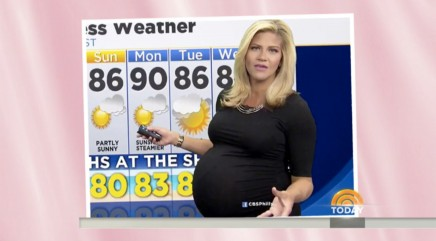 Pregnant meteorologist fights back after body shaming incident