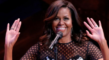Michelle Obama does a hilarious spot-on impression of President Obama