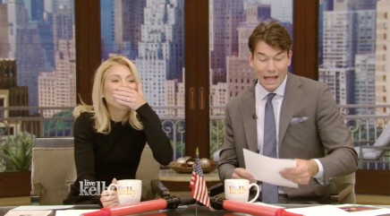 Kelly Ripa tests her knowledge of commonly mispronounced words