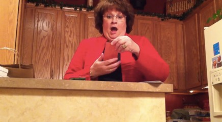 Mother has totally over-the-top reaction to special announcement